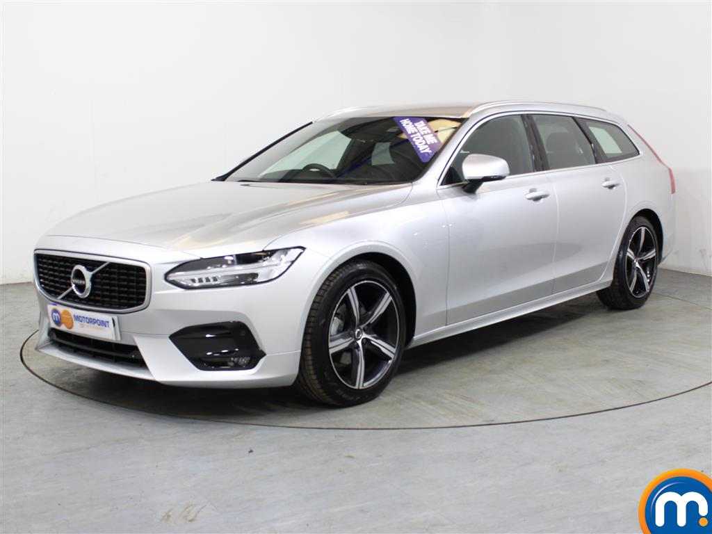 Volvo V90 R DESIGN - Stock Number (1005107) - Passenger side front corner