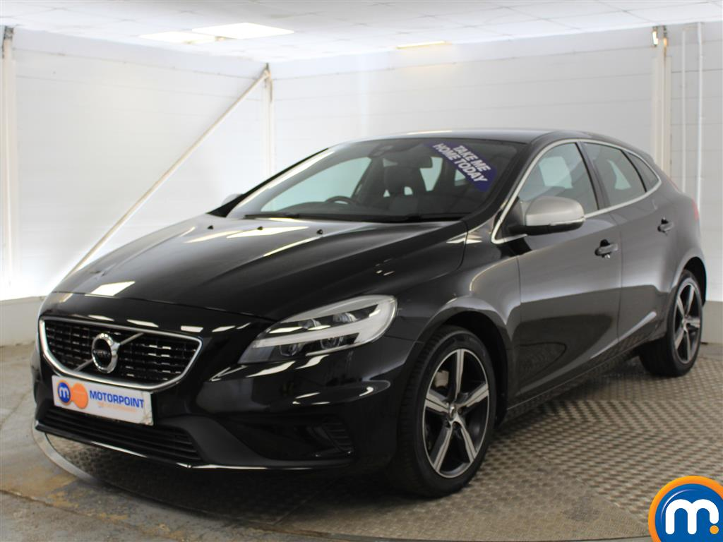 Volvo V40 R Design Manual Petrol Hatchback - Stock Number (1012269) - Passenger side front corner
