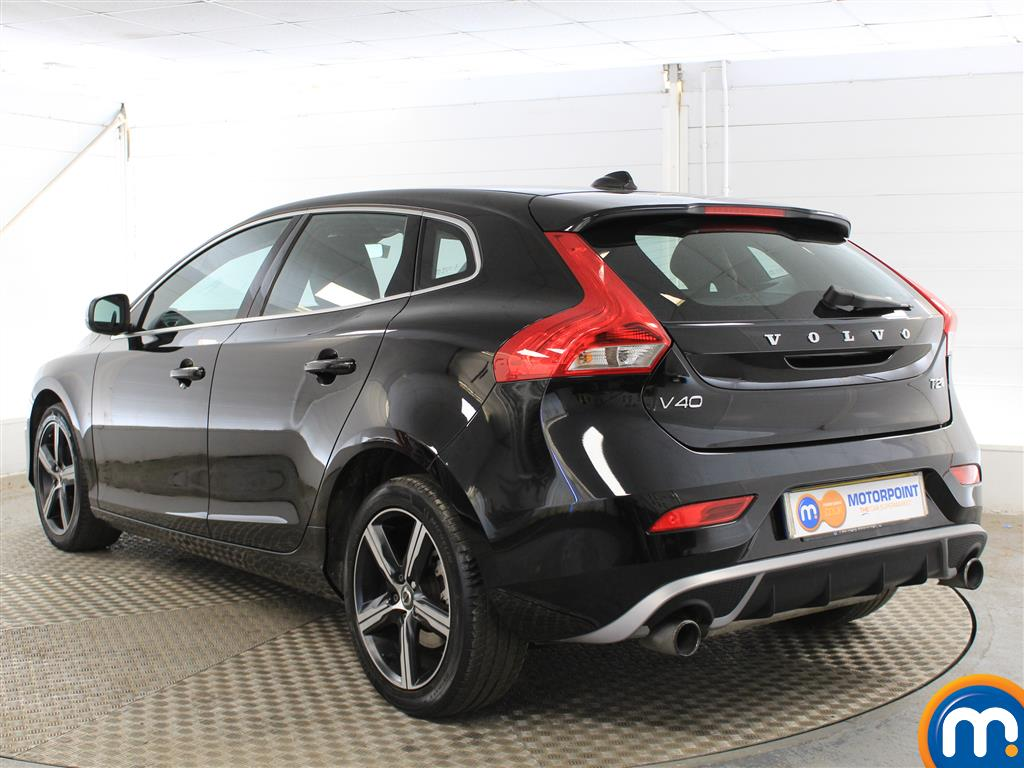Volvo V40 R Design Manual Petrol Hatchback - Stock Number (1012269) - Passenger side rear corner