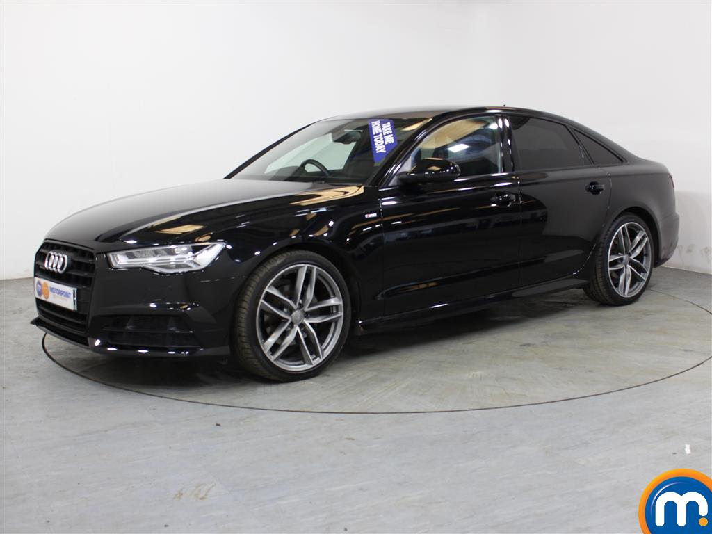Audi A6 Black Edition - Stock Number (1007552) - Passenger side front corner