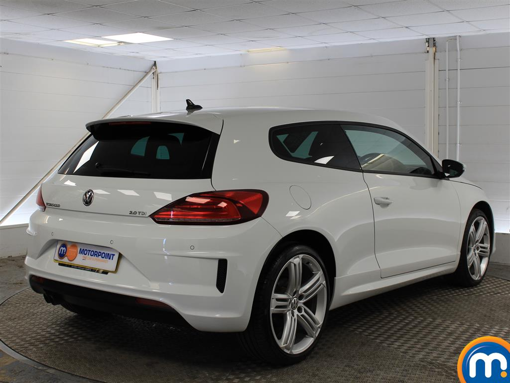 Volkswagen Scirocco R Line Automatic Diesel Coupe - Stock Number (1017870) - Drivers side rear corner