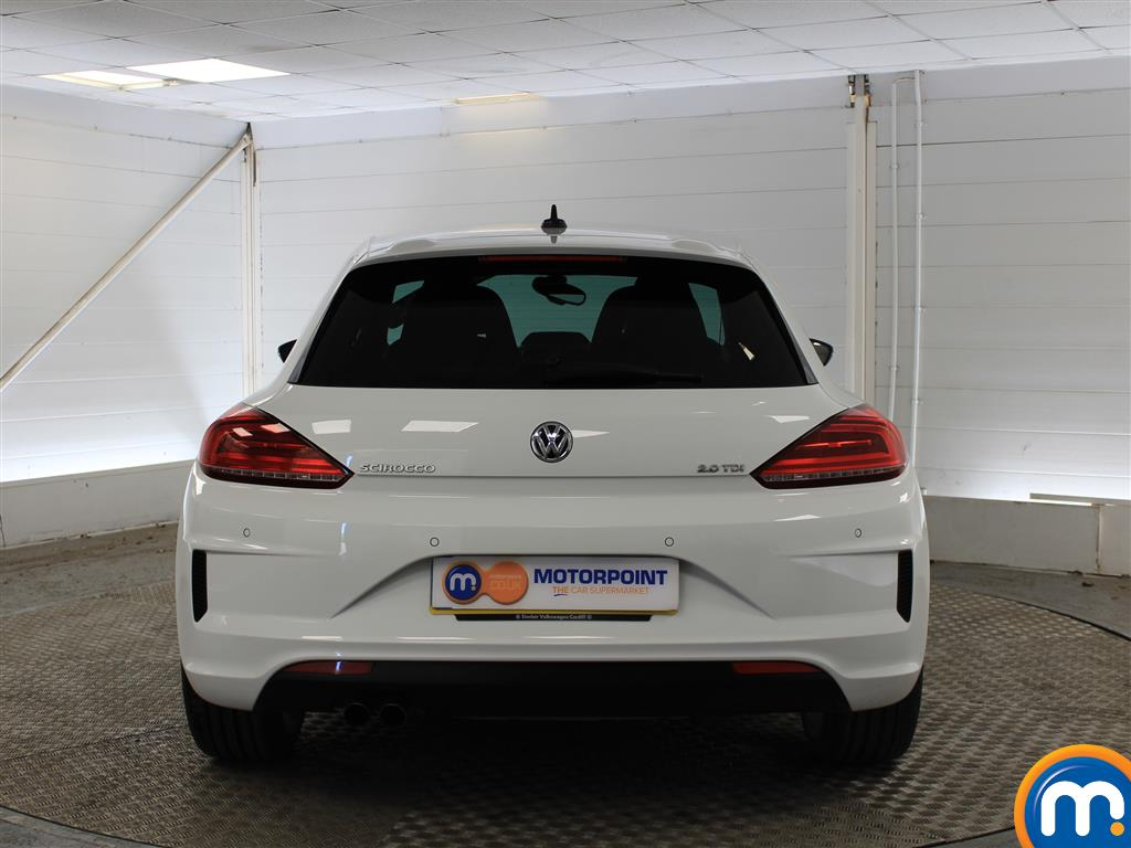 Volkswagen Scirocco R Line Automatic Diesel Coupe - Stock Number (1017870) - Rear bumper