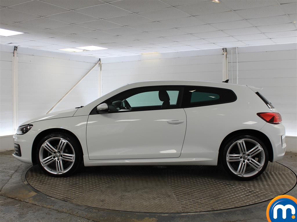 Volkswagen Scirocco R Line Automatic Diesel Coupe - Stock Number (1017870) - Passenger side