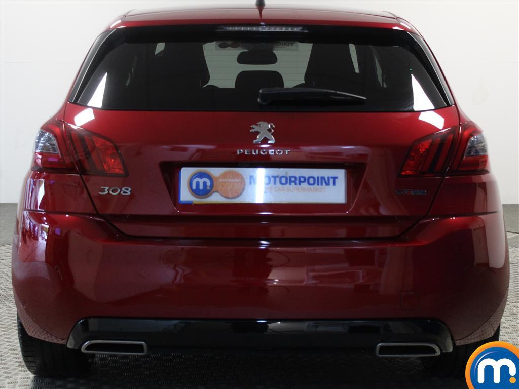 Peugeot 308 Gt Line Manual Petrol Hatchback - Stock Number (1015906) - Rear bumper