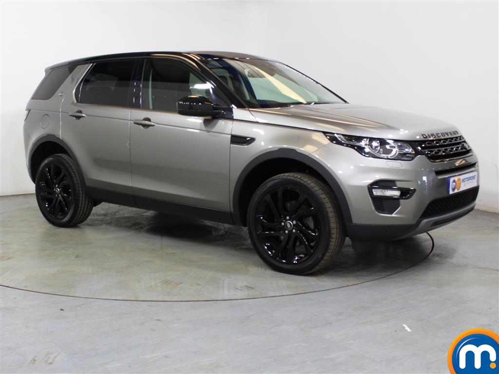 Land Rover Discovery Sport Hse Black Automatic Diesel 4X4 - Stock Number (1016336) - Drivers side front corner