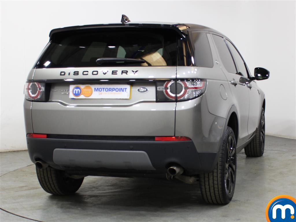Land Rover Discovery Sport Hse Black Automatic Diesel 4X4 - Stock Number (1016336) - Rear bumper