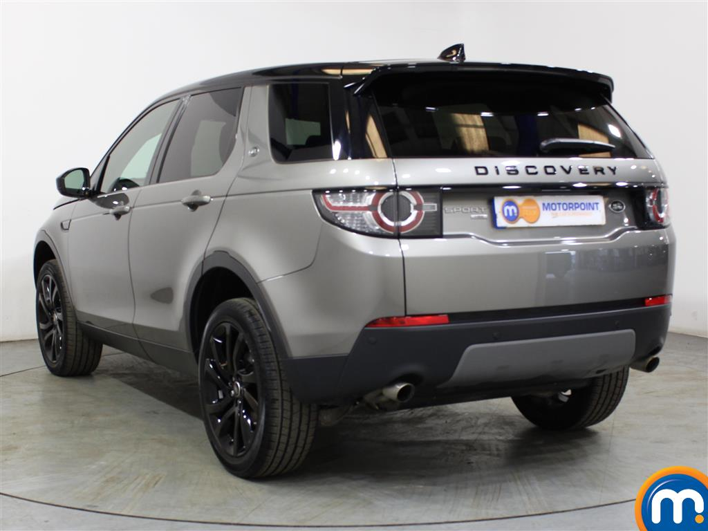 Land Rover Discovery Sport Hse Black Automatic Diesel 4X4 - Stock Number (1016336) - Passenger side rear corner