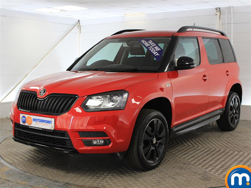 Skoda Yeti Monte Carlo Automatic Petrol Estate - Stock Number (1015267) - Passenger side front corner