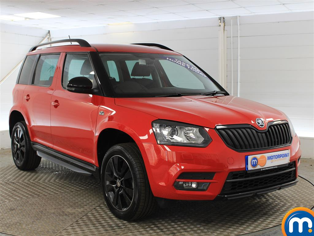 Skoda Yeti Monte Carlo Automatic Petrol Estate - Stock Number (1015267) - Drivers side front corner