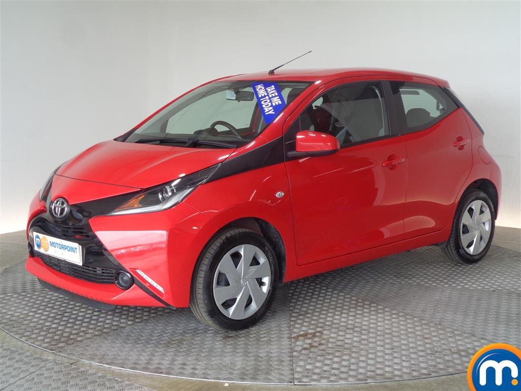 Toyota Aygo X-Play - Stock Number (1016174) - Passenger side front corner
