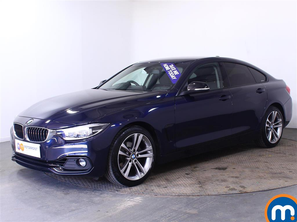 BMW 4 Series Sport - Stock Number (1018207) - Passenger side front corner