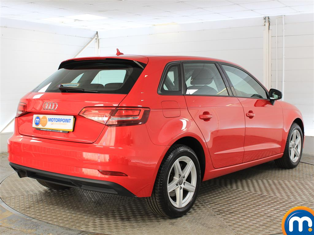 Audi A3 SE Automatic Petrol Hatchback - Stock Number (1018827) - Drivers side rear corner