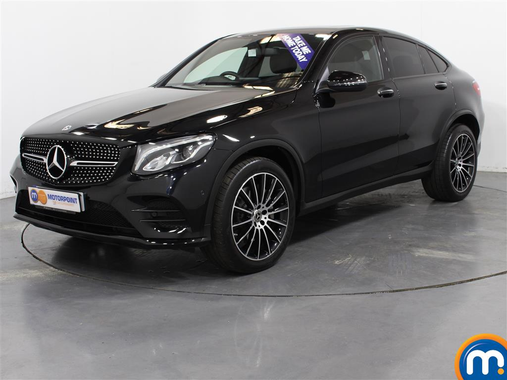 Mercedes-Benz Glc Coupe AMG Line - Stock Number (1010875) - Passenger side front corner