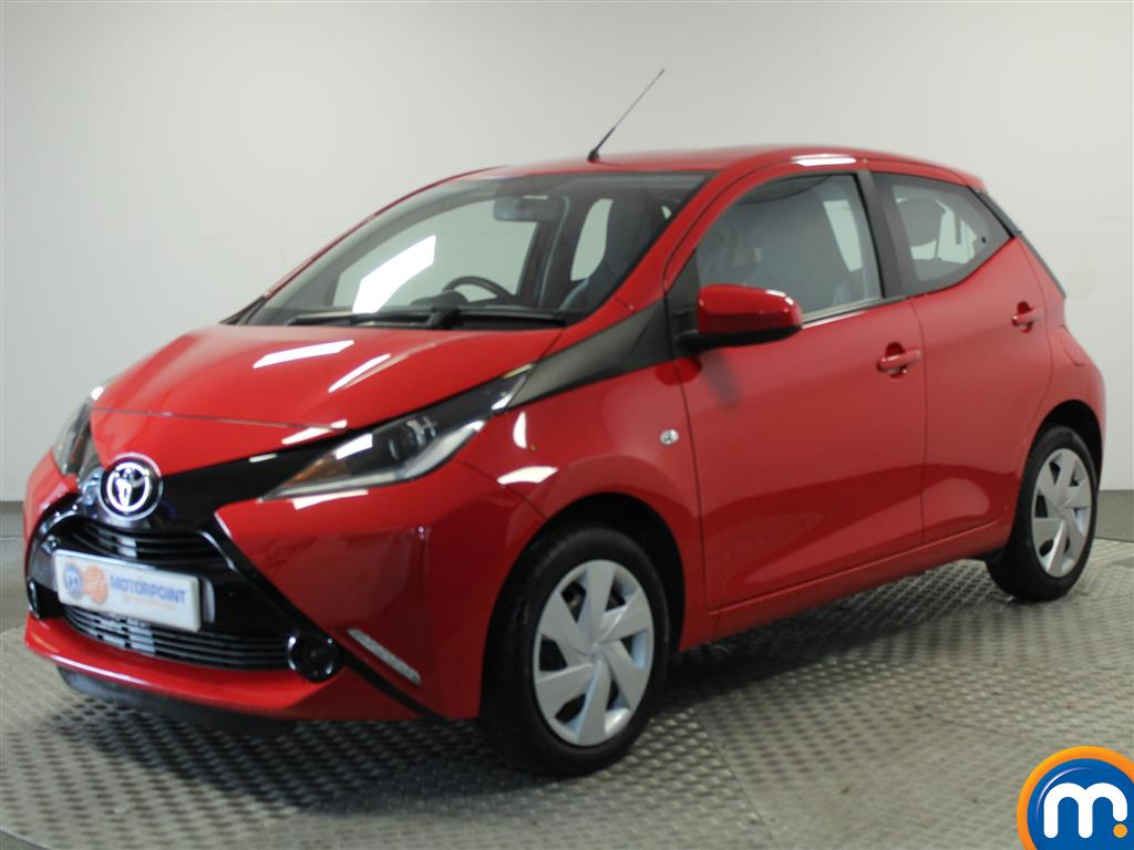 Toyota Aygo X-Play - Stock Number (1016166) - Passenger side front corner