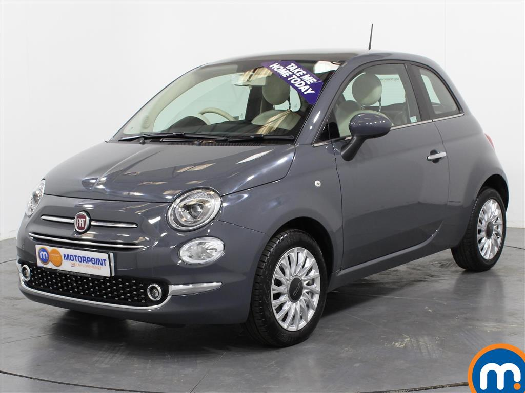 Fiat 500 Lounge - Stock Number (1016047) - Passenger side front corner