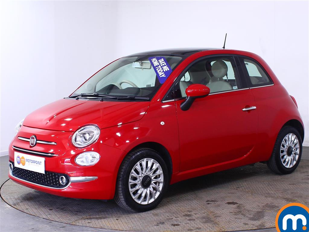 Fiat 500 Lounge - Stock Number (1012753) - Passenger side front corner