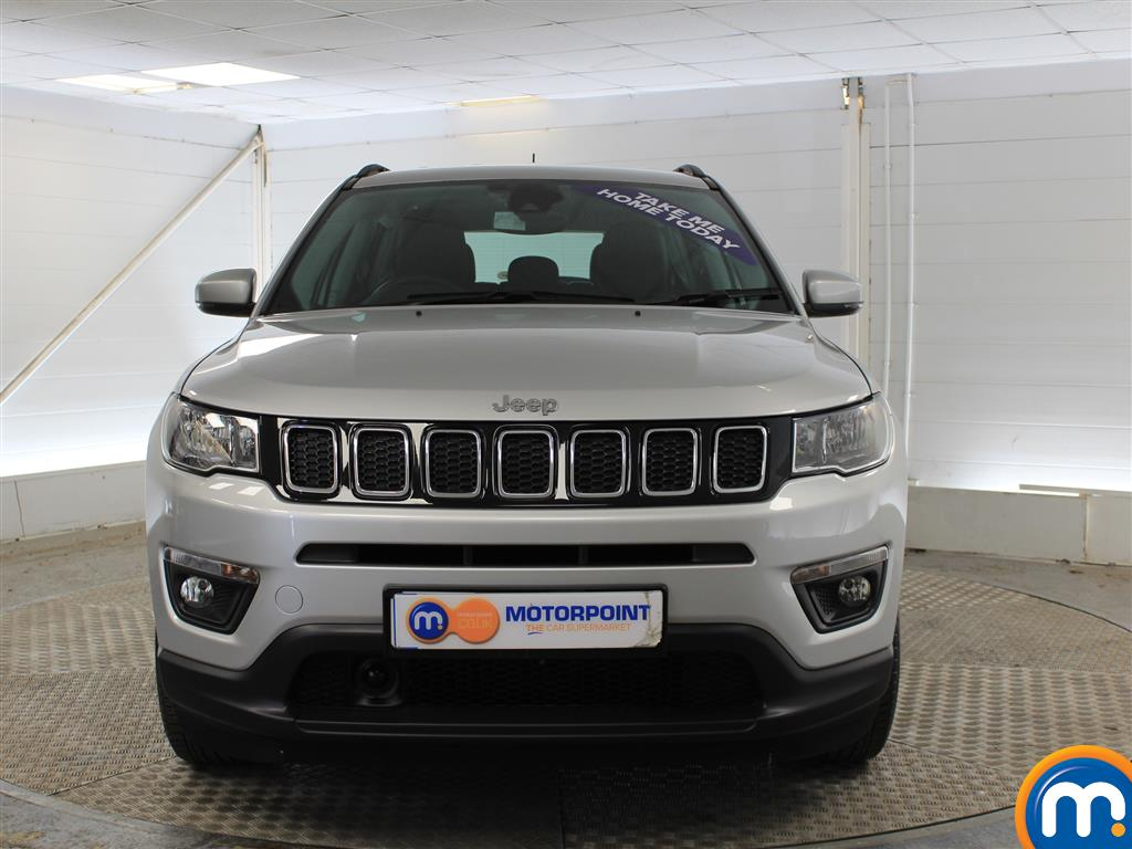 Jeep Compass Longitude Manual Petrol Crossover - Stock Number (1014973) - Front bumper