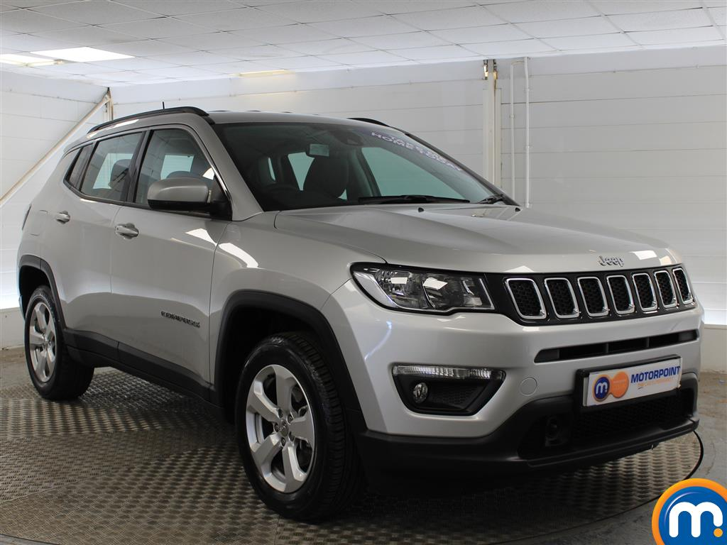 Jeep Compass Longitude Manual Petrol Crossover - Stock Number (1014973) - Drivers side front corner