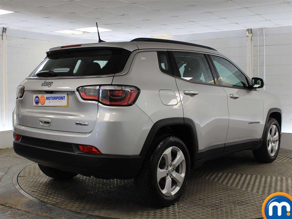 Jeep Compass Longitude Manual Petrol Crossover - Stock Number (1014973) - Drivers side rear corner