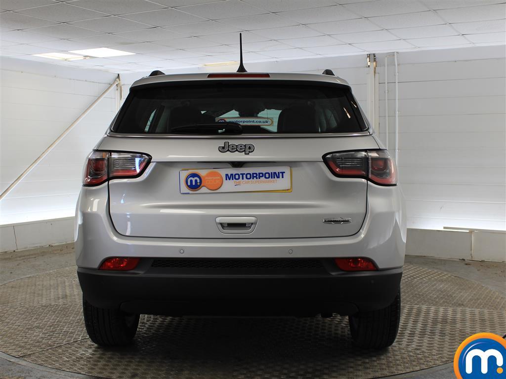 Jeep Compass Longitude Manual Petrol Crossover - Stock Number (1014973) - Rear bumper