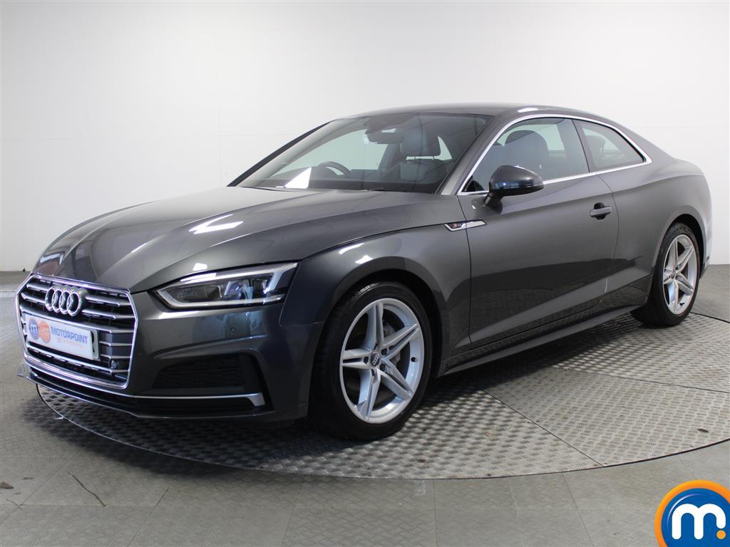 Audi A5 S Line - Stock Number (998525) - Passenger side front corner