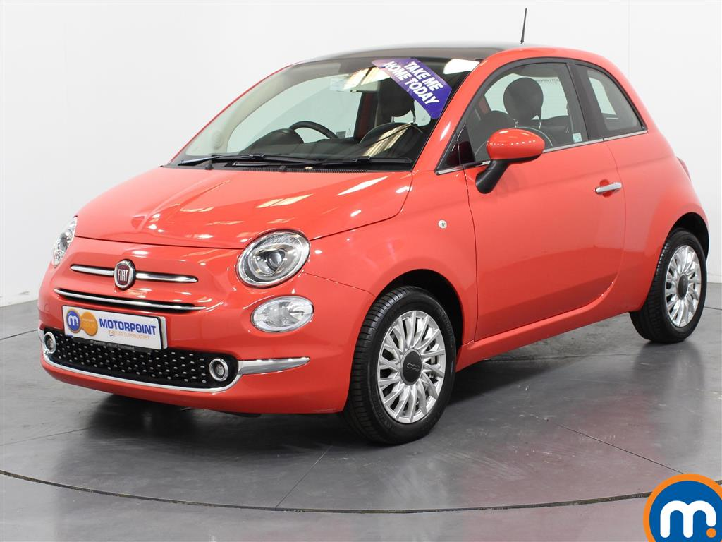 Fiat 500 Lounge - Stock Number (1003376) - Passenger side front corner