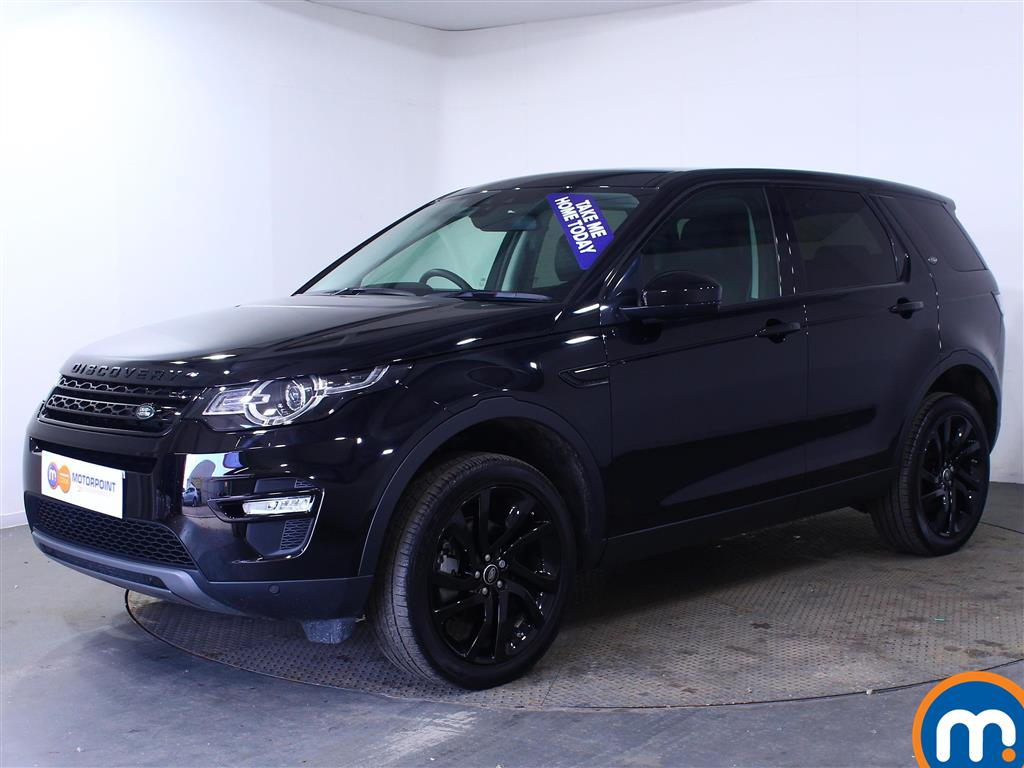 Land Rover Discovery Sport HSE Black - Stock Number (1016246) - Passenger side front corner
