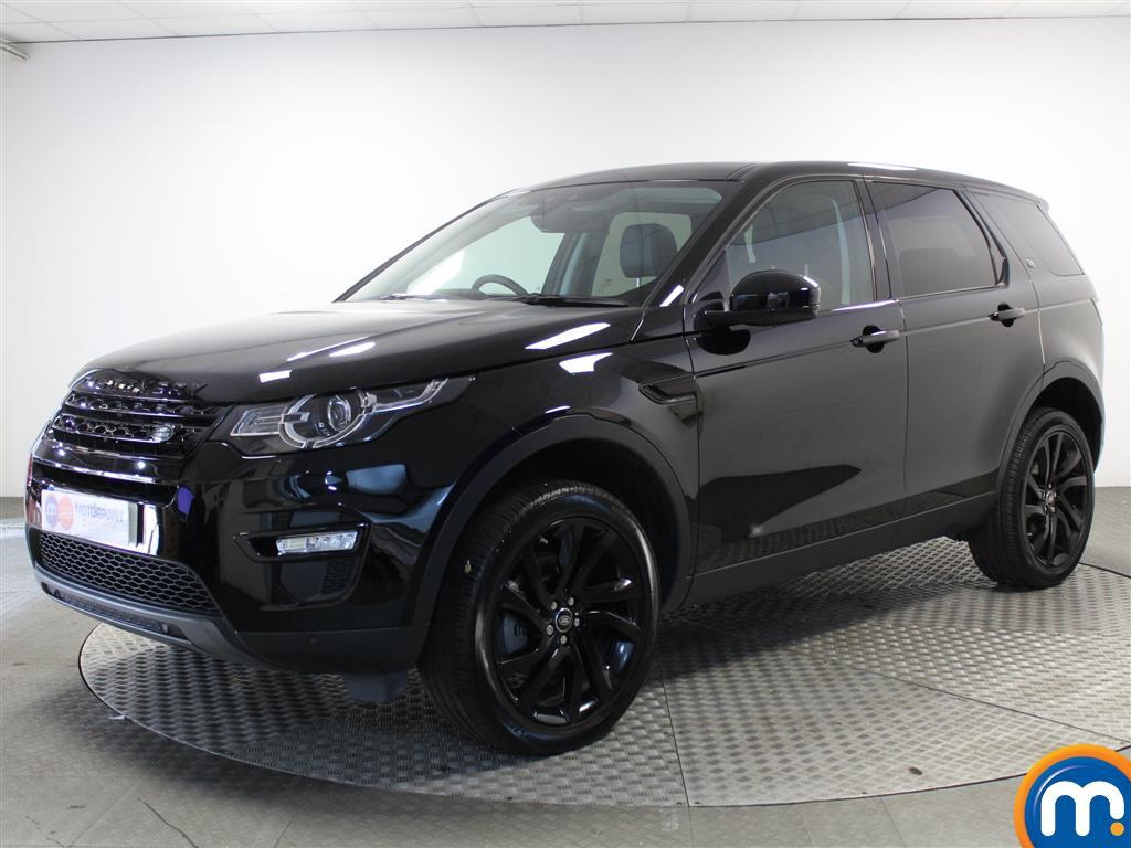 Land Rover Discovery Sport HSE Black - Stock Number (1016339) - Passenger side front corner