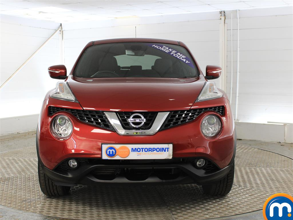 Nissan Juke N-Connecta Automatic Petrol Hatchback - Stock Number (1019914) - Front bumper