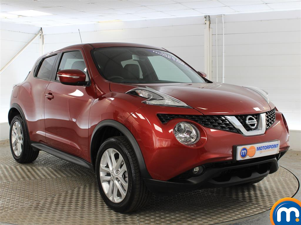 Nissan Juke N-Connecta Automatic Petrol Hatchback - Stock Number (1019914) - Drivers side front corner