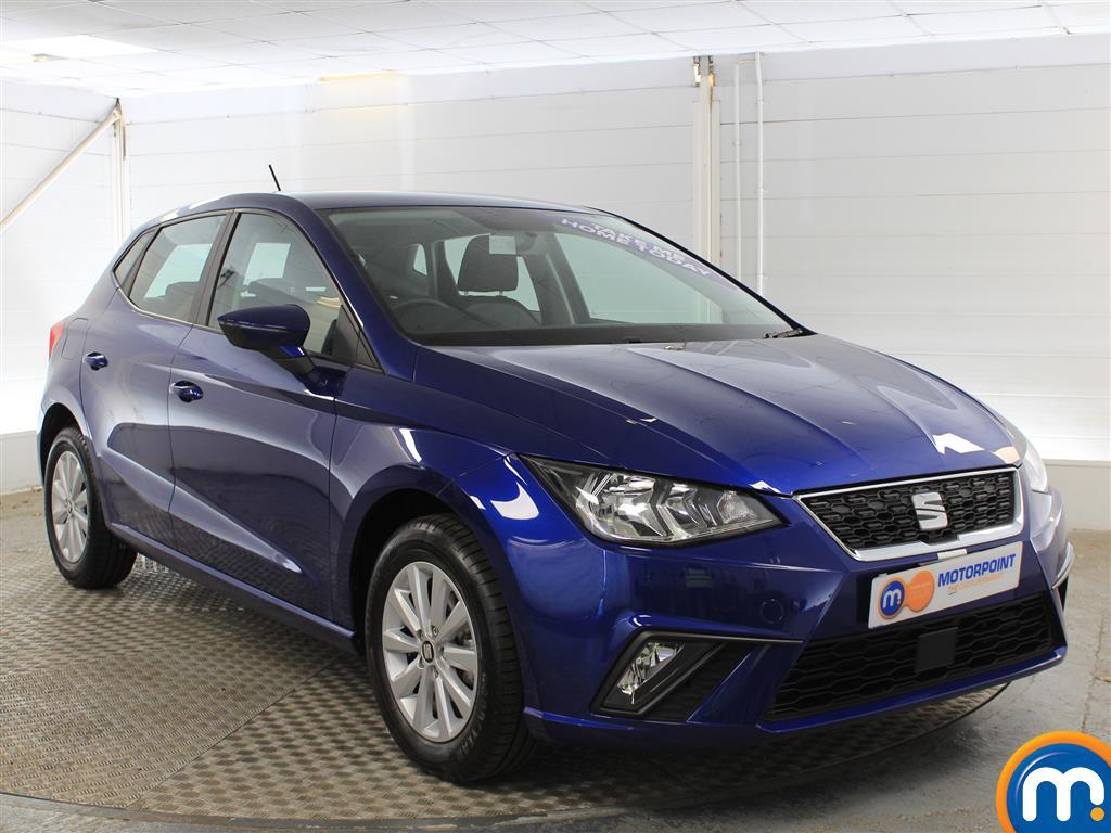 Seat Ibiza SE Manual Petrol Hatchback - Stock Number (1020878) - Drivers side front corner