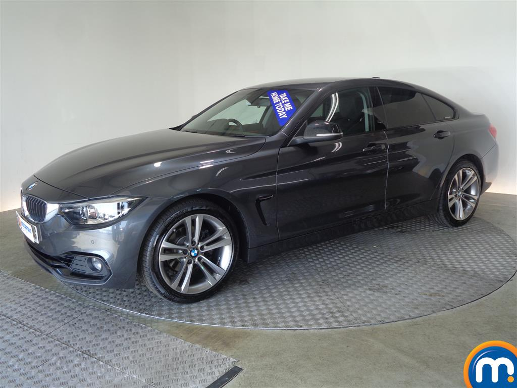 BMW 4 Series Sport - Stock Number (1018221) - Passenger side front corner