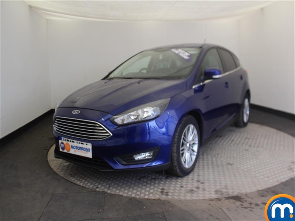 Ford Focus Zetec Edition - Stock Number (1018154) - Passenger side front corner