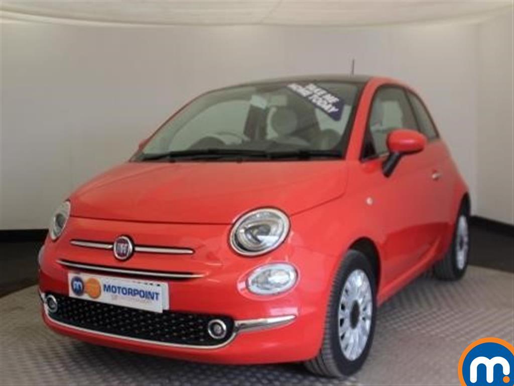 Fiat 500 Lounge - Stock Number 1015971 Passenger side front corner