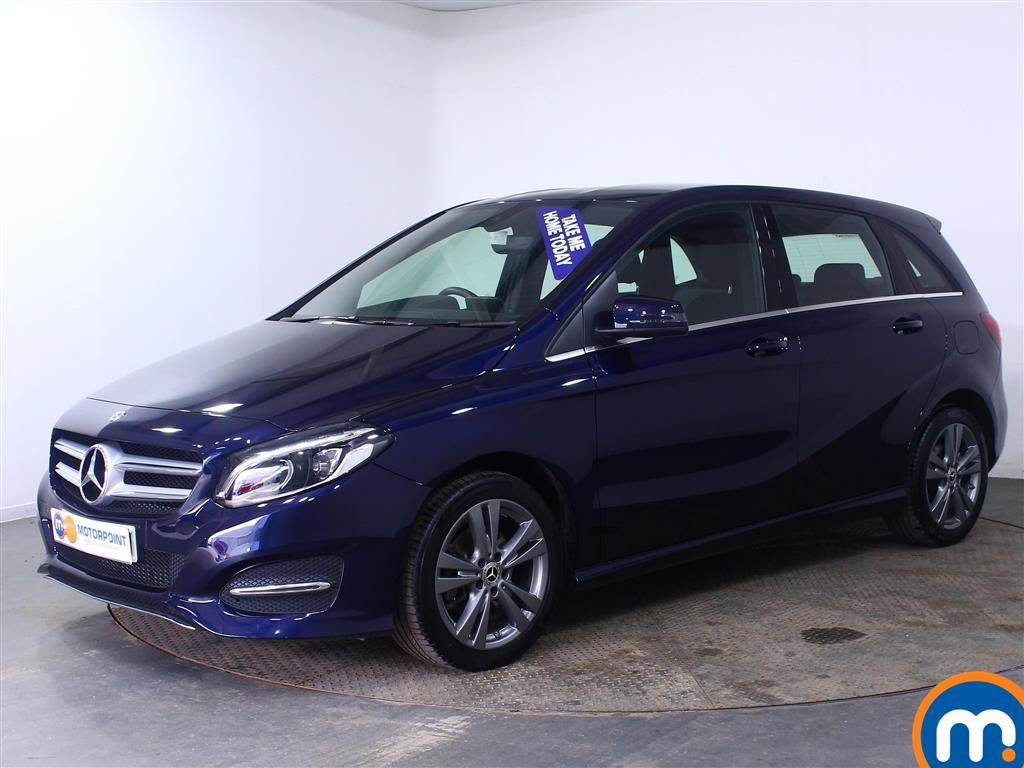 Mercedes-Benz B Class Exclusive Edition - Stock Number (1011871) - Passenger side front corner