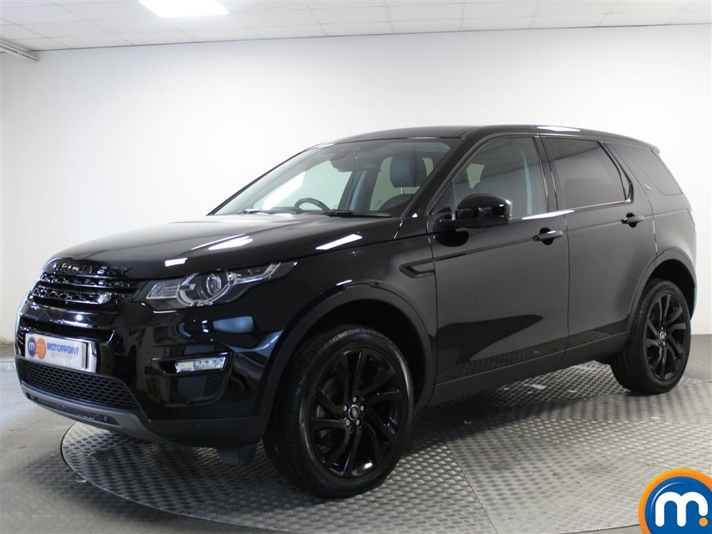 Land Rover Discovery Sport HSE Black - Stock Number (1017793) - Passenger side front corner