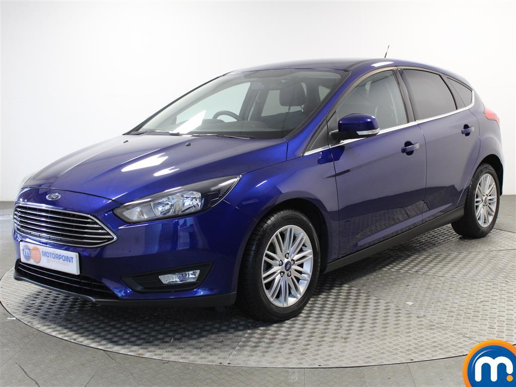 Ford Focus Zetec Edition - Stock Number (1018160) - Passenger side front corner