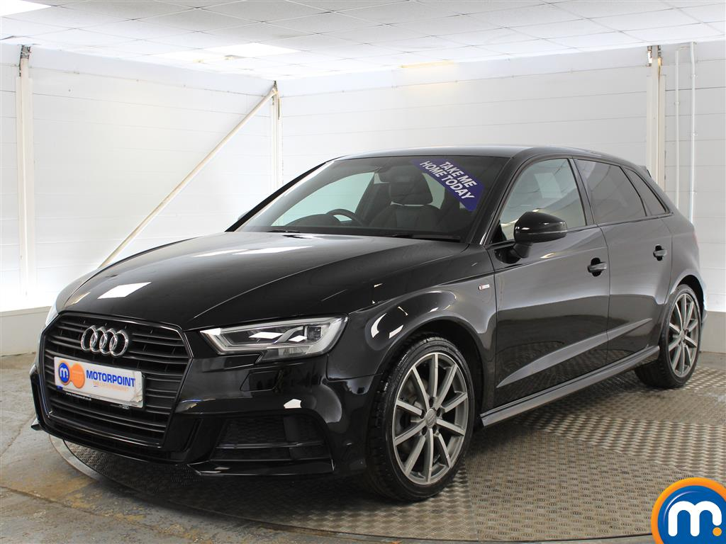 Audi A3 Black Edition - Stock Number (1018293) - Passenger side front corner