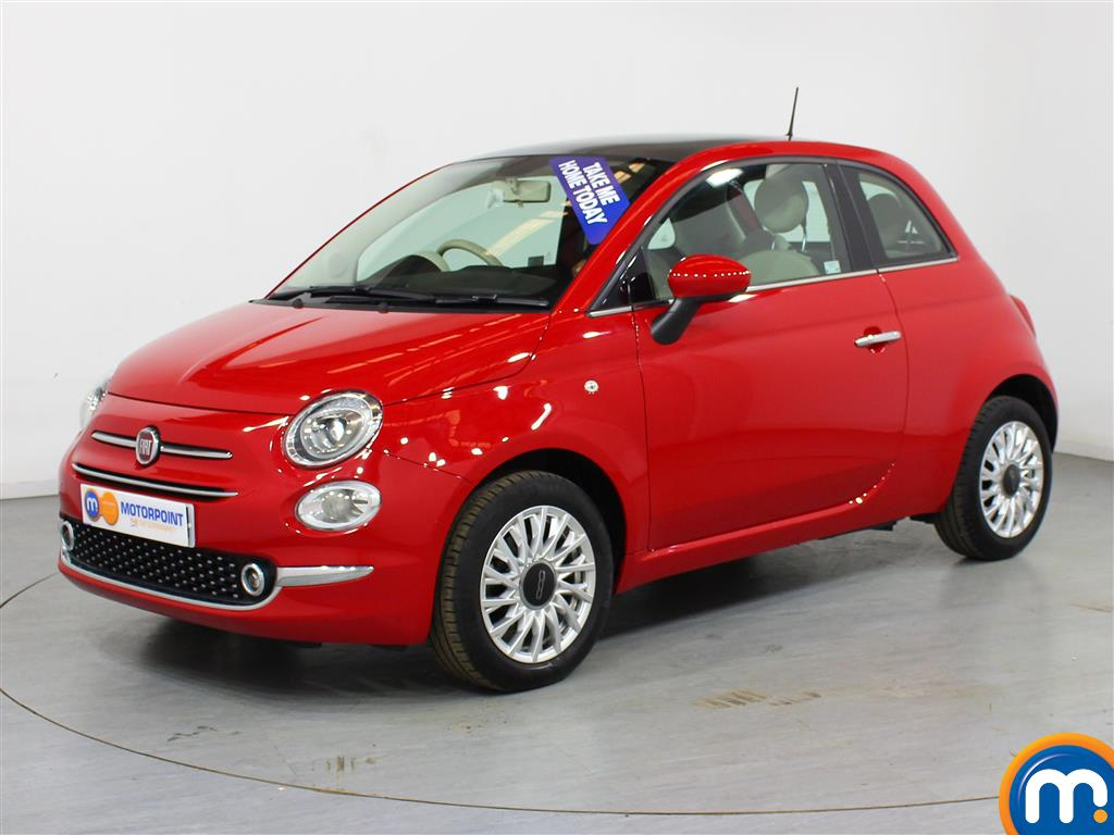 Fiat 500 Lounge - Stock Number (1012759) - Passenger side front corner
