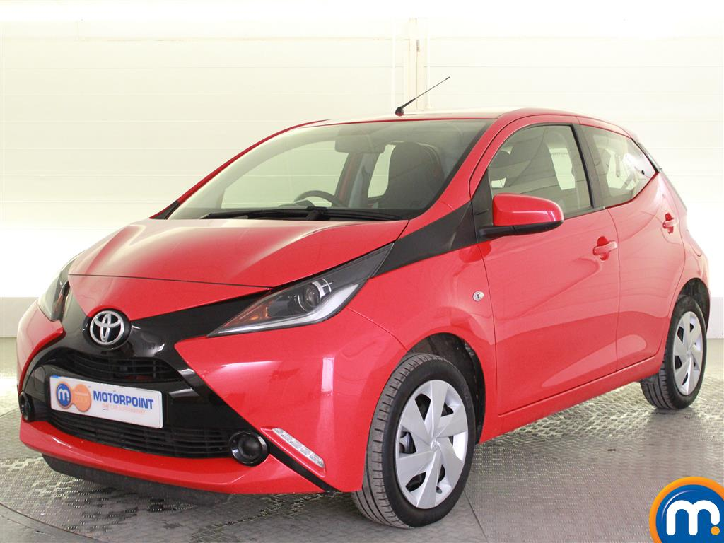 Toyota Aygo X-Play - Stock Number (1020127) - Passenger side front corner