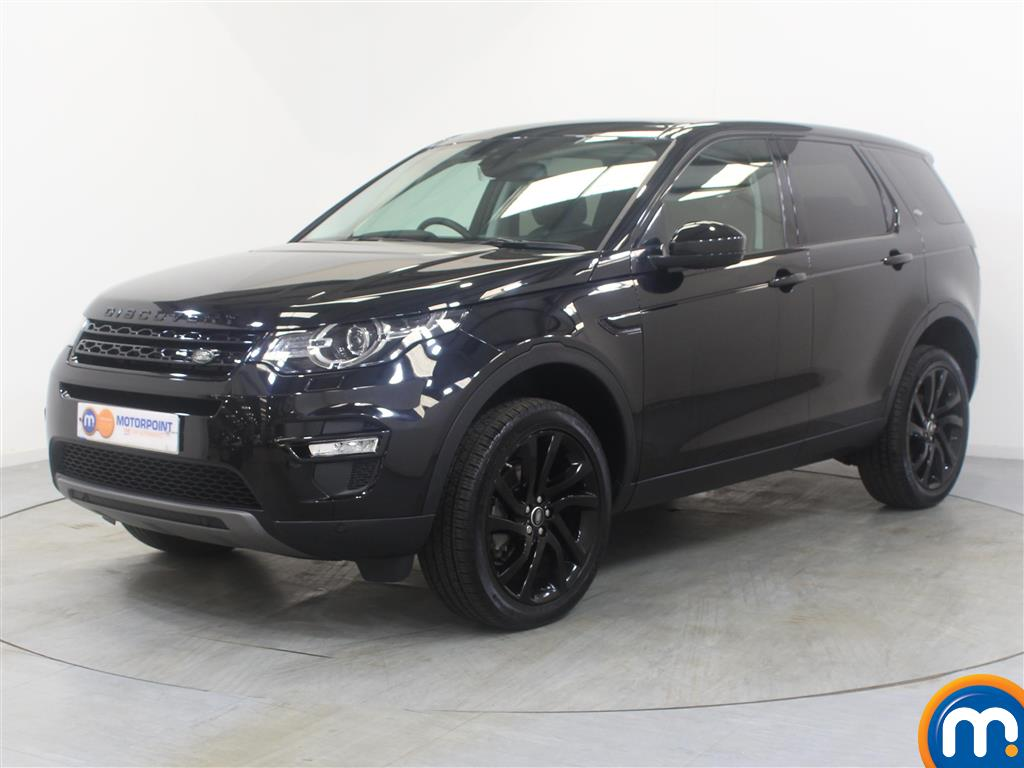 Land Rover Discovery Sport HSE Black - Stock Number (1019852) - Passenger side front corner