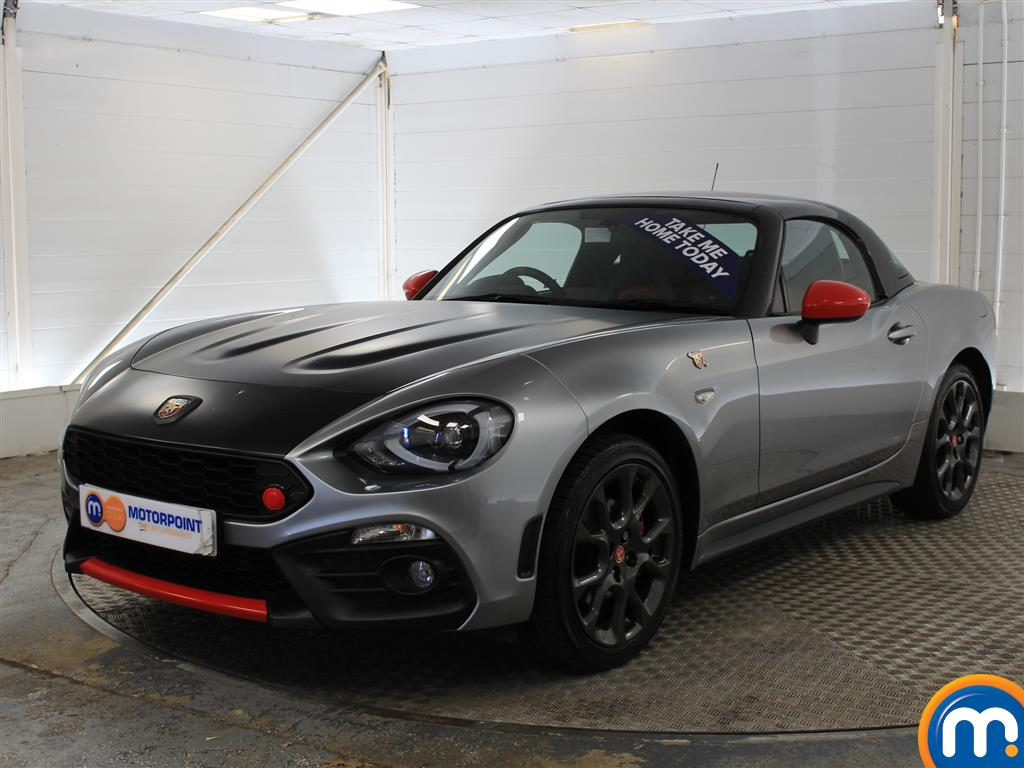 Abarth 124 Spider 1.4 T MultiAir 2dr Auto - Stock Number (1011385) - Passenger side front corner