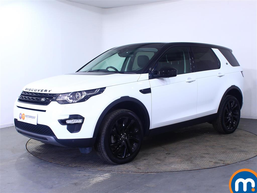 Land Rover Discovery Sport HSE Black - Stock Number (1019350) - Passenger side front corner