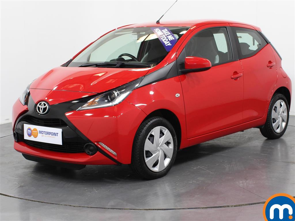 Toyota Aygo X-Play - Stock Number (1015797) - Passenger side front corner