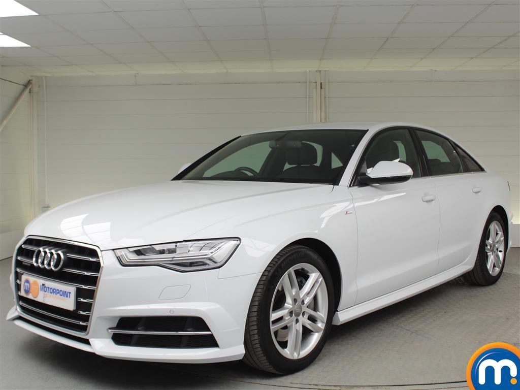 Audi A6 S Line - Stock Number (1018300) - Passenger side front corner