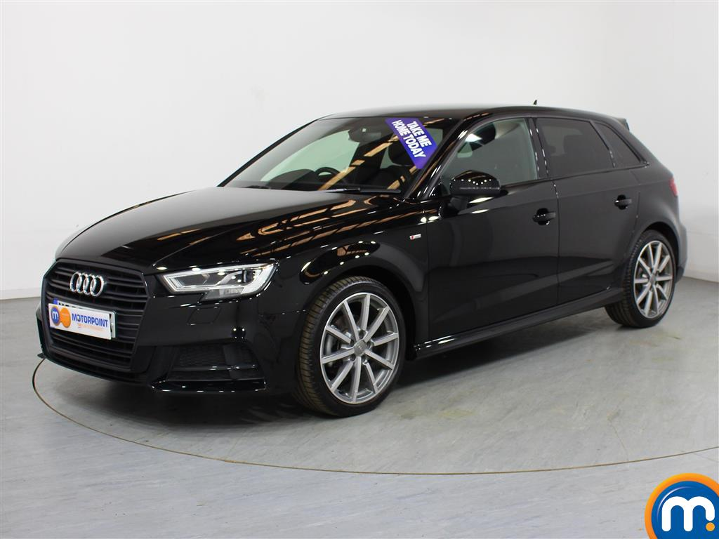 Audi A3 Black Edition - Stock Number (1013453) - Passenger side front corner