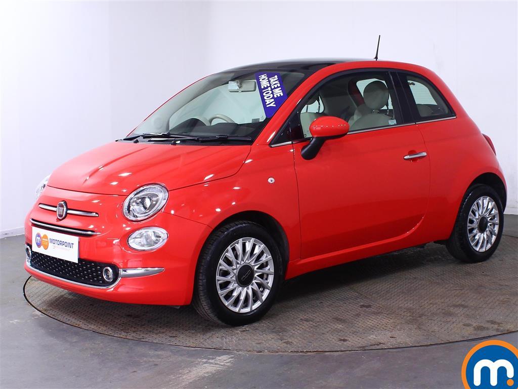 Fiat 500 Lounge - Stock Number (1015993) - Passenger side front corner
