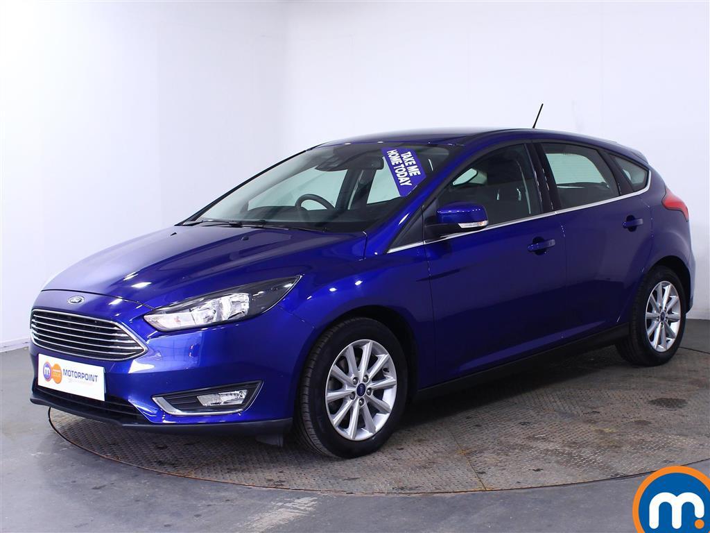 Ford Focus Titanium - Stock Number (1020579) - Passenger side front corner
