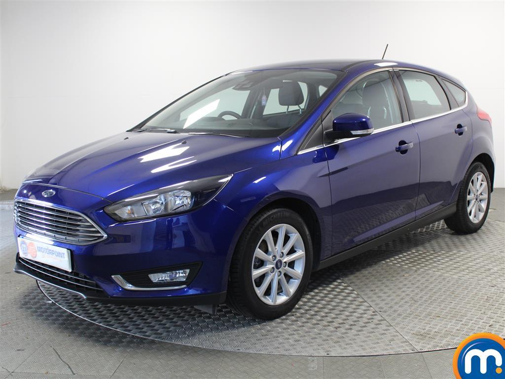 Ford Focus Titanium - Stock Number (1003743) - Passenger side front corner