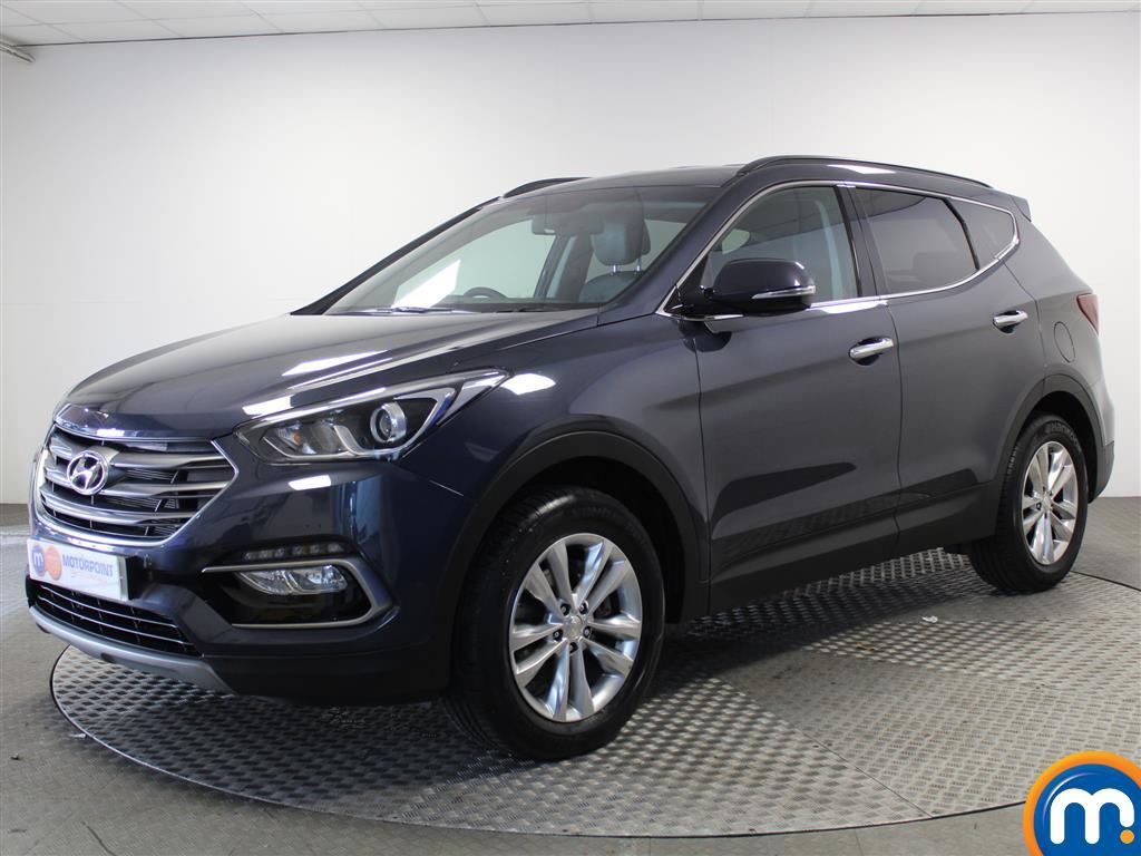 Hyundai Santa Fe Premium - Stock Number (1017218) - Passenger side front corner